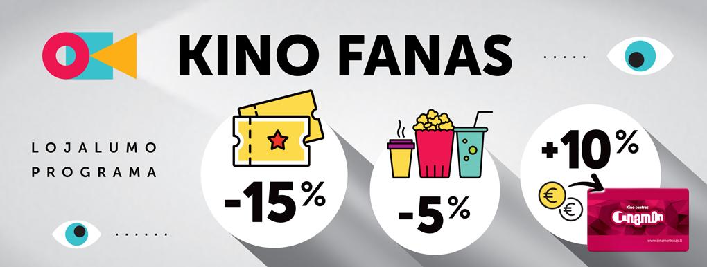 Kino fano kortelė (reklamjuostė)