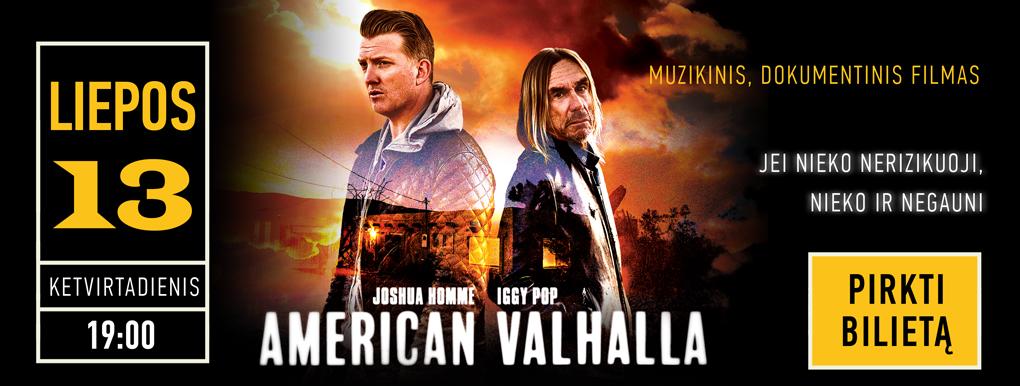 American Valhalla. Muzikinis, dokumentinis filmas (reklamjuostė)