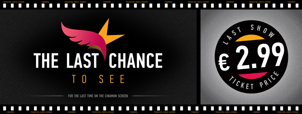 The last chance to see (banner)
